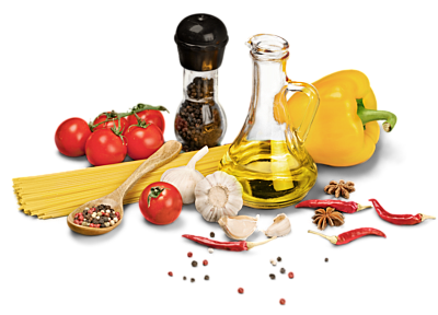 Öl und gutes Essen gehören zusammen!